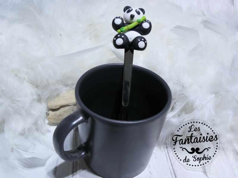 cuillère panda mug