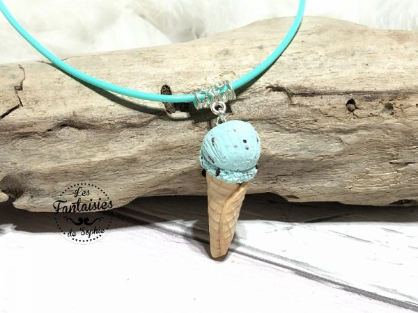 collier glace menthe