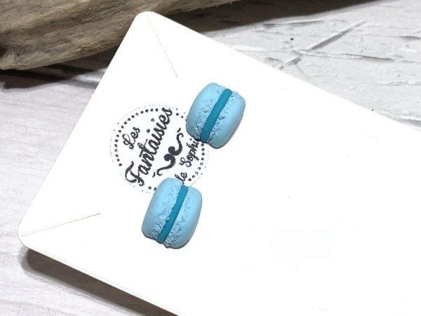 macaron bleu