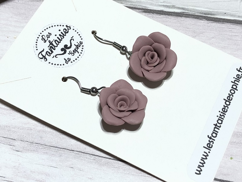 pendante rose