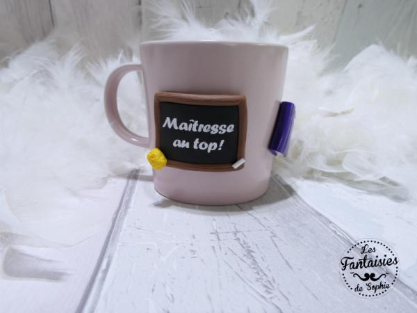 mug rose ardoise