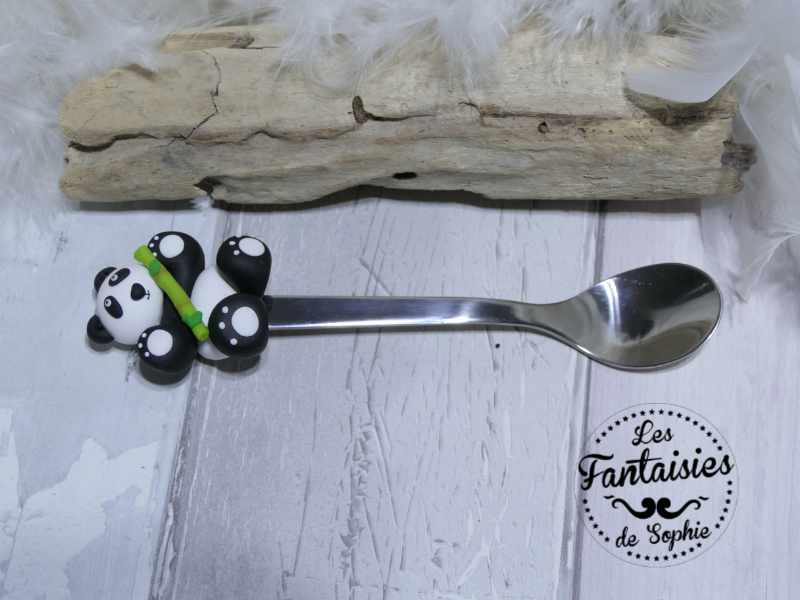 cuillère panda bambou