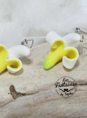 bananes boucles d'oreilles