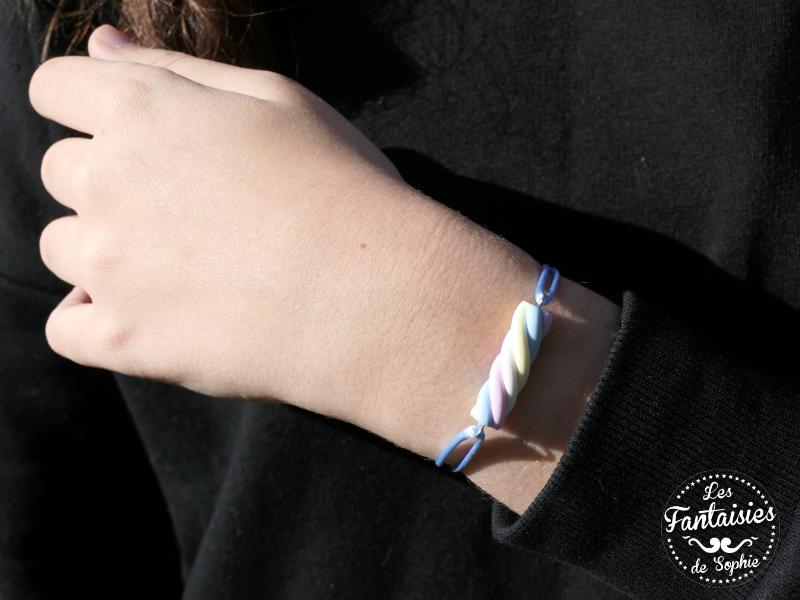 bracelet guimauve