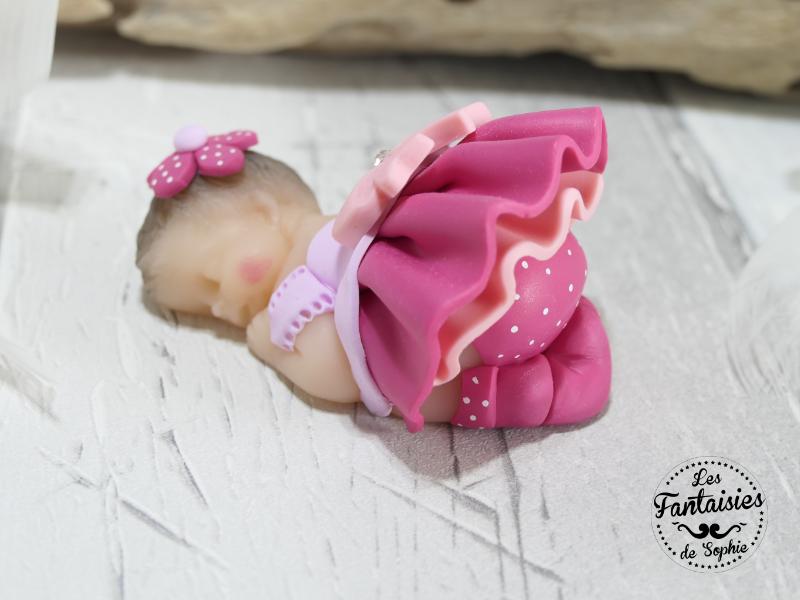 bebe fille framboise