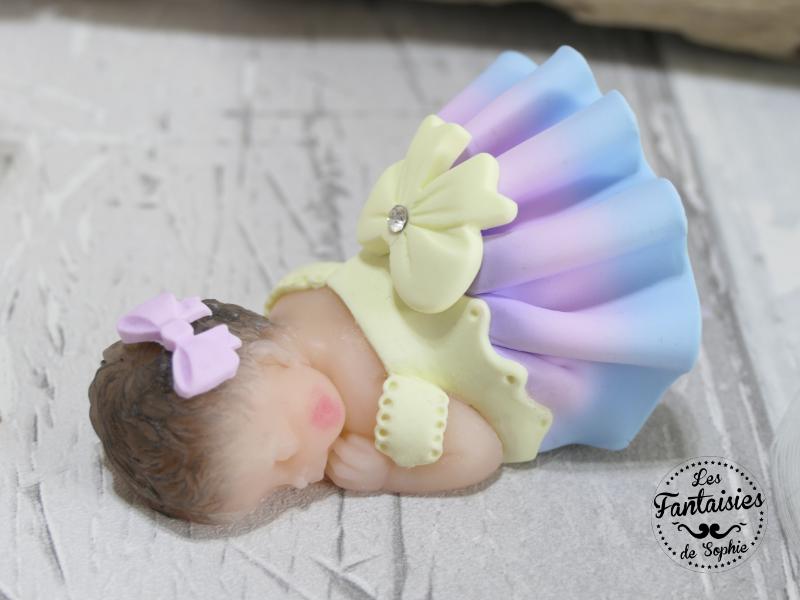 bebe fille pastel
