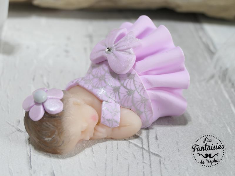 bebe fimo rose gris