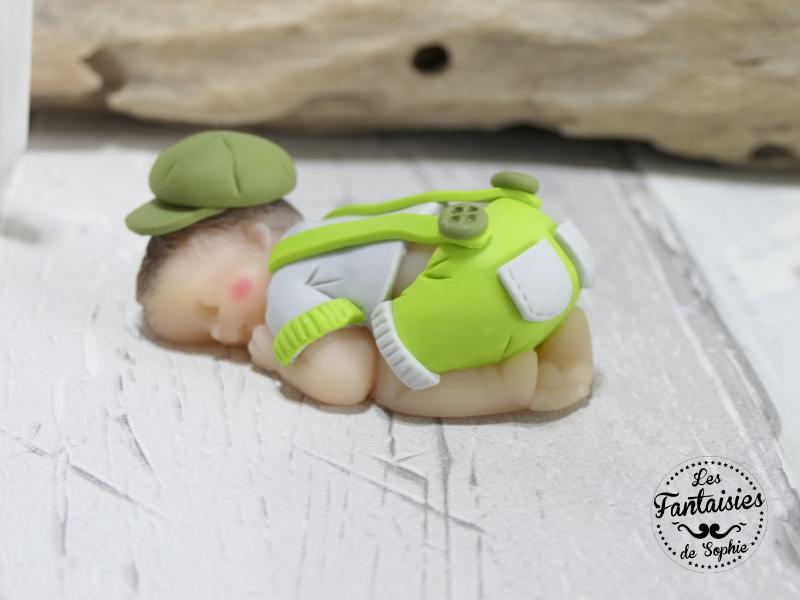 bebe garçon vert