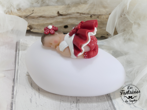 veilleuse bebe rouge